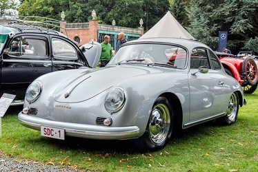 Porsche 356 A 1600 Super coupe by Reutter 1957 fl3q