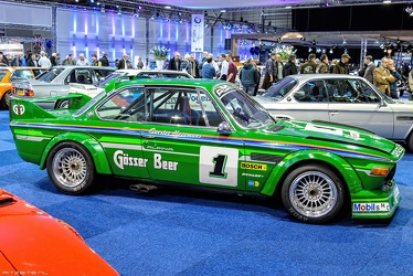 Alpina BMW 3.2 CSL E9 Group 2 replica 1974 side