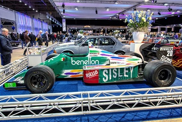 Benetton BMW B186 F1 1986 side