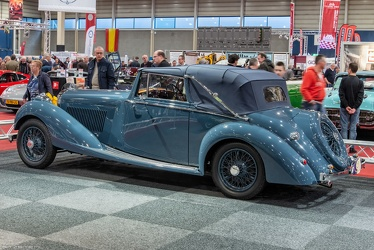 Bentley 4.25 Litre DHC by Gurney Nutting 1936 r3q