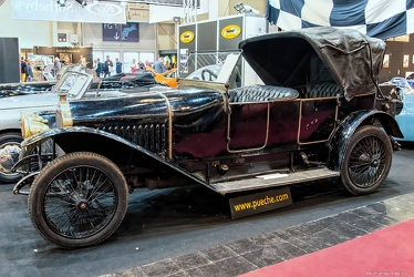 Piccard Pictet Type MIII 20/30 CV sporting victoria 1913 side