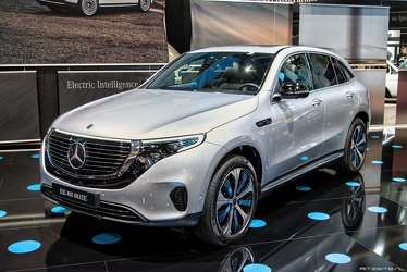 Mercedes EQC 400 4Matic 2019 fl3q