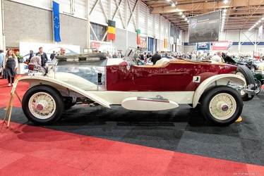 Rolls Royce Phantom I 1928 boattail tourer rebody by Wilkinson 1951 side