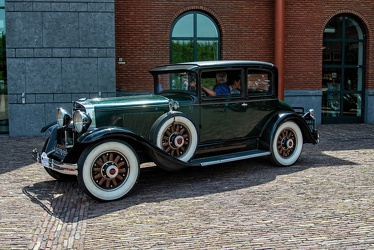 Graham Paige Model 827 opera coupe by LeBaron 1929 side