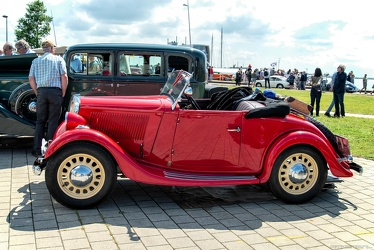 Simca Fiat 6 CV Balilla sport roadster by Kelsch 1935 side