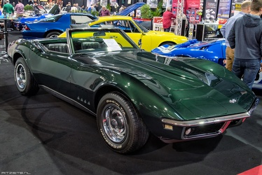 Chevrolet Corvette C3 convertible roadster 1968 fr3q