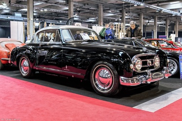 Nash Healey S2 Le Mans coupe by Pininfarina 1954 black fr3q