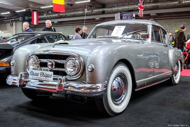 Nash Healey S2 Le Mans coupe by Pininfarina 1954 silver fl3q