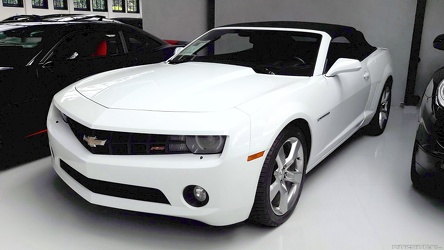 Chevrolet Camaro S5 RS 3.6 convertible coupe 2012 fl3q