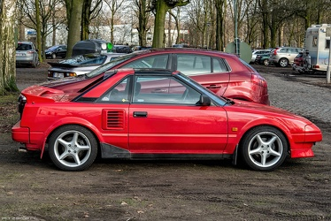Toyota MR2 S1 1987 side