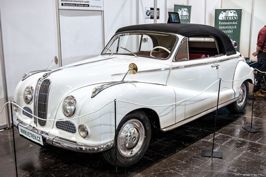 BMW 502 2-door cabriolet by Baur 1955 fl3q