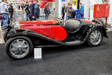 Bugatti T55 roadster 1933 side