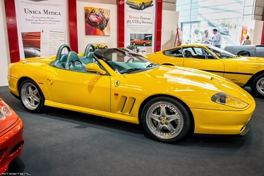 Ferrari 550 barchetta by Pininfarina 2001 side
