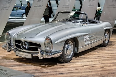 Mercedes 300 SL roadster 1959 fl3q
