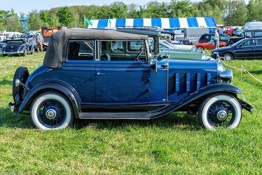 Chevrolet Confederate landau phaeton by Fisher 1932 side