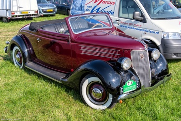Ford V8 club cabriolet 1936 fr3q
