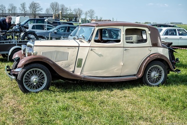 Riley 12/6 Mentone 1934 side