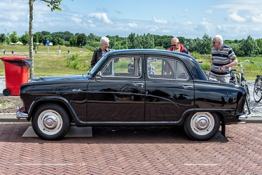 Austin A50 Cambridge 1956 side