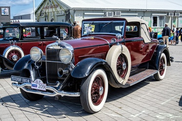 Lincoln Model L convertible roadster by LeBaron 1930 fl3q