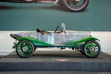 Alvis 12/40 HP Duck's Back tourer by Carbodies 1923 side