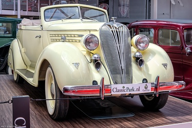 Hudson Custom Eight Series 65 convertible coupe 1936 fr3q
