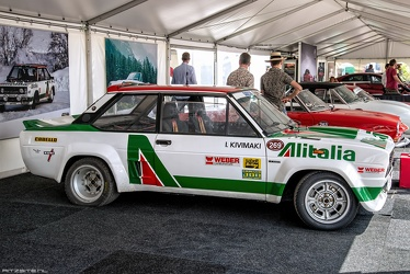 Abarth Fiat 131 Rally Group 4 1977 side