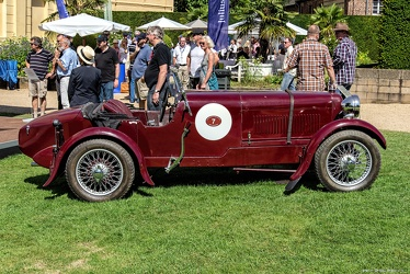 Alvis FWD FA supercharged 2-seater 1928 side