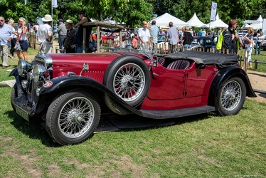 Alvis Silver Eagle SG tourer by Cross & Ellis 1935 fl3q