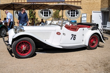 Jaguar SS 1 sport tourer 1934 side