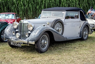 MG WA Tickford DHC by Salmons & Sons 1939 fl3q