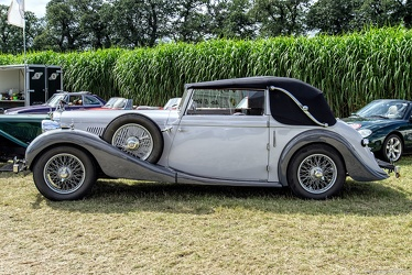 MG WA Tickford DHC by Salmons & Sons 1939 side