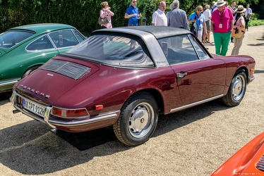 Porsche 912 Targa US soft window 1967 r3q