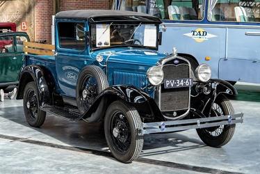 Ford Model A DeLuxe pick-up 1931 fr3q