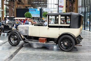 Vauxhall 23/60 HP Type OD sedanca by Mulliner 1922 r3q