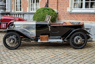 Aston Martin 1.5 Litre side valve long chassis tourer by Jarvis 1925 side