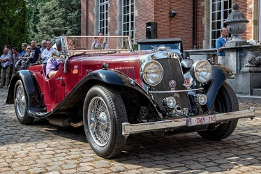 Aston Martin 15/98 HP 2 Litre 2/4 seater by Abbey 1937 fr3q