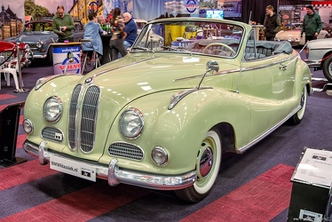 BMW 502 2.6 Liter 2-door cabriolet by Baur 1955 fl3q