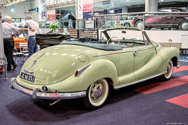 BMW 502 2.6 Liter 2-door cabriolet by Baur 1955 r3q