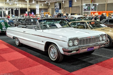 Chevrolet Impala SS convertible coupe 1964 fr3q