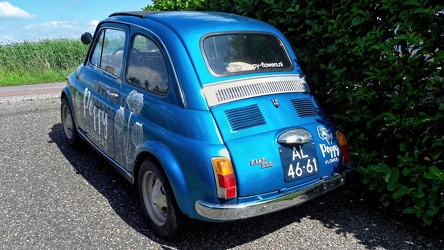 Fiat 500 F My Car by Francis Lombardi 1968 r3q