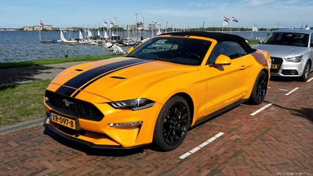 Ford Mustang S6 Ecoboost convertible coupe 2019 fl3q