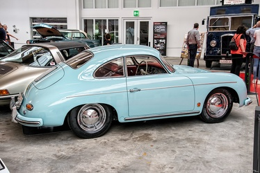 Porsche 356 A 1600 Super coupe by Reutter 1958 side